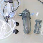 CO2レギュレーターと電磁弁付き 水草職人