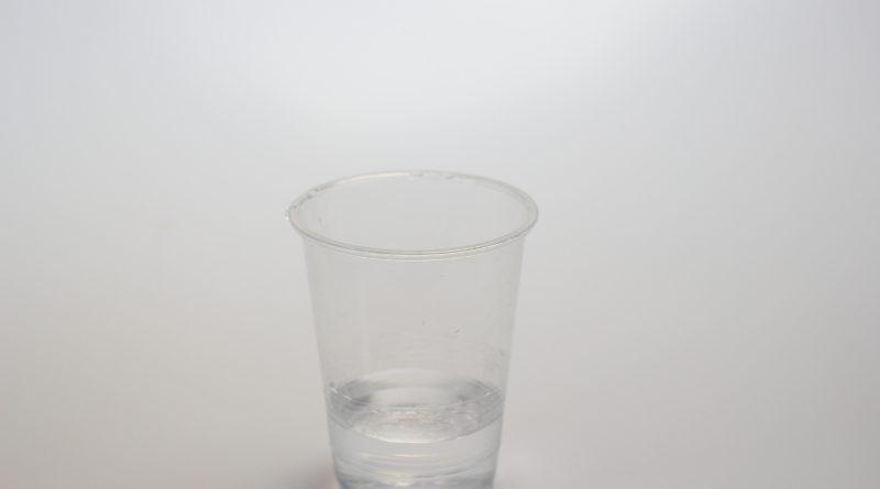 カップを使って測定