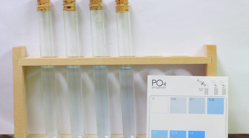 試薬液によるリン酸塩測定